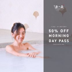 [Yunomori Onsen and Spa] Tomorrow is the final day of our 50% OFF Morning Day Pass!