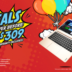 [Lenovo] Save up to $309 (with a 3-Year warranty included) when you shop on Hachi.