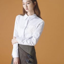 [SocietyA - Shoes & Accessories Lounge] The white long sleeve blouse, the ultimate essential of all workwear basics.