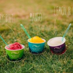 [New Zealand Natural Café] Taste the freshness with one of our 98% fat-free sorbets!