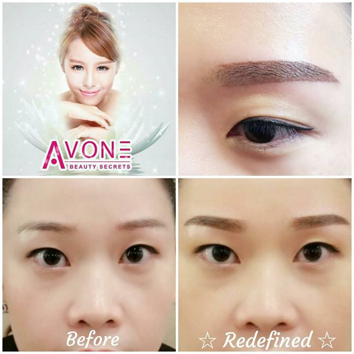 [AVONE BEAUTY SECRETS] For Avone Beauty Secrets latest Creative Essence Brows embroidery, the end result looks very natural as the full form of  - 👑BQ.sg BargainQueen
