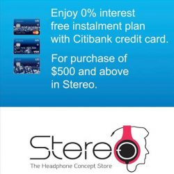 [Stereo] We will be updating more promotions soon so keep your eyes peeled on this space for more exciting offers!