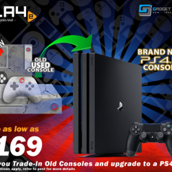 [GAME XTREME] Trade-In to PS4 Pro Promo【PROMO DURATION】 While Stocks Last【DETAILS】 The super-charged PS4 Pro boasts dynamic 4K