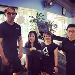 [Anytime Fitness] Bringing around our new BIO members for a tour!