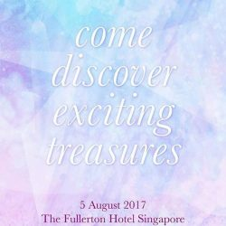[Mirage Flowers] Come join us at The Fullerton Hotel Singapore on 5th Aug 2017!