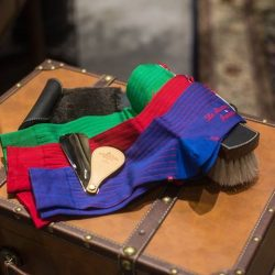 [Saphir] La Chausette Francaise - exquisite dress socks hand made in France.