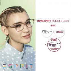 [Trendy Eyes] GSS special not to be missed: Buy a pair of Esprit optical frame with lenses AND receive a FREE pair