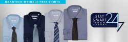 [Goldlion] New Nanotech Wrinkle Free Shirts.