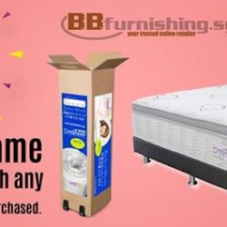 [B&B FURNISHING CENTRE] Dreamster Beds on Wheels is the latest innovations of mattress, which offers value-for-money & convenient DIY installation.