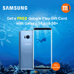 [M1] Get a free $30 or $50 Google Play Gift Card when you sign up or re-contract with Samsung Galaxy