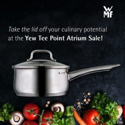 [WMF] Set the stage for your culinary talents to shine at our Yew Tee Point atrium sale from 6 - 12 July.