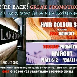 [ALAN & GUYS HAIR SALON] Alan & Guys @ Sembawang Shopping Centre (SSC) is Back!