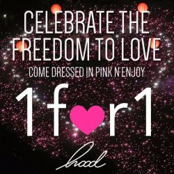 [Hood Bar and Cafe] Hood Bar and Cafe celebrate the freedom to love with Pink Dot SG!