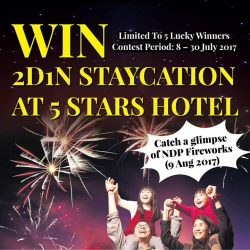 [Novena] Stand to win a 2D1N Staycation this National Day and catch a glimpse of the National Day's Fireworks!