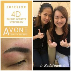 [AVONE BEAUTY SECRETS] EXQUISITELY Crafted to perfection by our JEM Embroidery Specialist Connie (Tel.