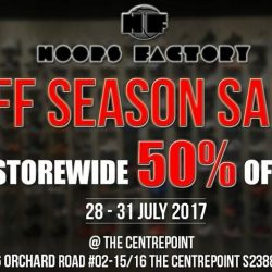 [Hoops Factory] Off Season Sale is still on going at Hoops Factory Centrepoint only.