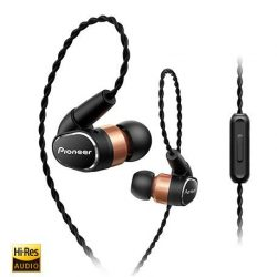 [Connect-IT by Jade Gift Shop] Push Mobile Hi-Res Audio to the Limit: the SE-CH9T from Pioneer, a premium dynamic headphone delivering immersive Hi-