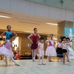 [Viva School of Music and Ballet] Free dance during the audition.