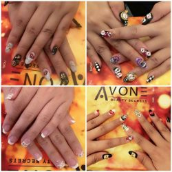 [AVONE BEAUTY SECRETS] Intricately designed with passion and pride by our Nailworks Team at Kallang Wave Mall Tel.