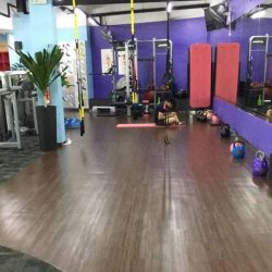 [Anytime Fitness] This is our floor space for functional training, classes and stretching!