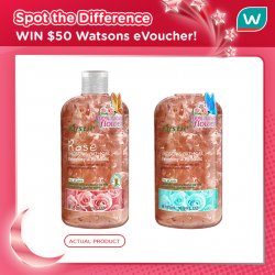 [Watsons Singapore] SPOT the DIFFERENCE!