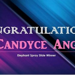 [BabySpa] Heartiest congratulations to Candyce Ang for winning an elephant spray slide!