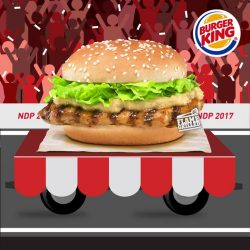 [Burger King Singapore] March along with our popular local fare this National Day!