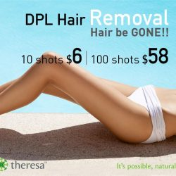 [THERESA BEAUTY] Hair be GONE!
