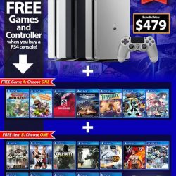 [GAME XTREME] PS4 Slim July Bundle【PROMO DURATION】 While Stocks Last【DETAILS】 Choose the games you want when you buy a PS4