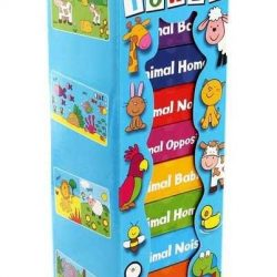 [Junior Page] Book Tower - 8 Board Books$12.