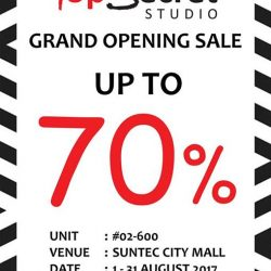 [Top Secret] Counting down 5 days to our store opening at Suntec City Mall, 02-600!