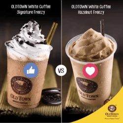 [OLDTOWN White Coffee Singapore] Chilled delights never go out of style!