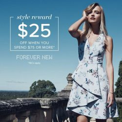 [Forever New] Style Reward - Shop Now to Save!