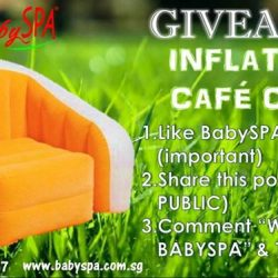 [Barcook] Are you the lucky one to win an Intex Inflatable Café Chair?