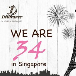 [Delifrance Singapore] In case you haven't figured it out yet, the answer to our riddle contest is 34!