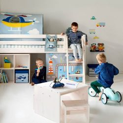 [FLEXA] Complement your kid's FLEXA furniture with our colourful collection of textiles to suit your child's dream theme.