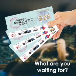 [Jack's Place] Redeem your Singapore Restaurant Festival dining vouchers at our outlets!