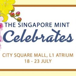 [The Singapore Mint] Don't forget to opt of self-collection at The Singapore Mint Fair at City Square Mall to enjoy exciting