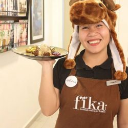 [Fika Swedish Café & Bistro (Halal)] It's al-moose TGIFIKA!