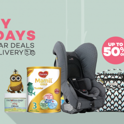 [Lazada Singapore] Enjoy free delivery and up to 50% off Baby Fridays!