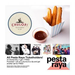 [NENE CHICKEN] Pesta Raya is happening on the 20 - 21 July and if you are a ticket holder to any of the