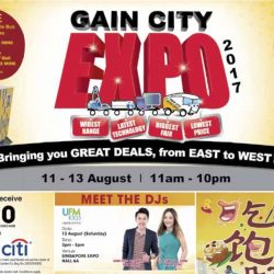 Gain City: Gain City Expo 2017 with Up to 50% OFF Clearance Models & FREE Vouchers!