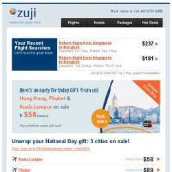[Zuji] The National Day Sale begins! Fly fr $58 (return).