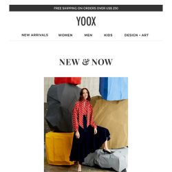 [Yoox] New & Now: the latest arrivals