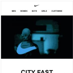 [Nike] Move City Fast in Two New Styles