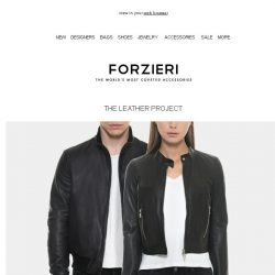 [Forzieri] The Leather Project is Now Open