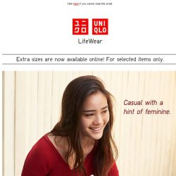 [UNIQLO Singapore] What are your basic casuals?