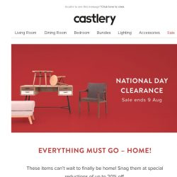 [Castlery] Your Home is where they belong. Truly.