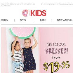 [Cotton On] New season Dresses from $19.95 + MORE inside…
