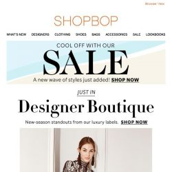 [Shopbop] Fall for these Designer Boutique standouts